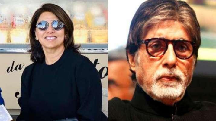 Neetu Kapoor, Amitabh Bachchan