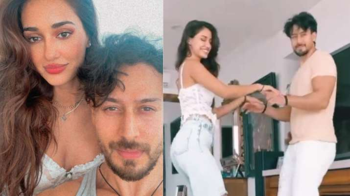 Disha Patani celebrates birthday with Tiger Shroff and his family; watch unseen video, pics