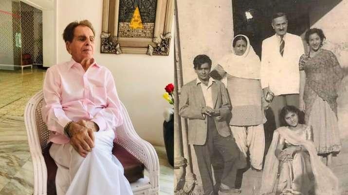 Dilip Kumar shares rare throwback pic with Nargis