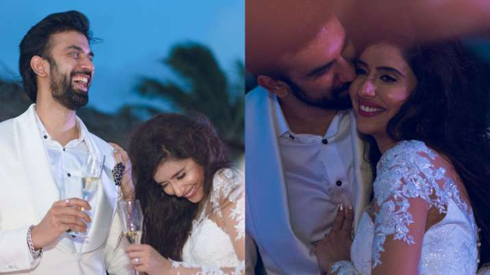 Charu Asopa Sen celebrates second engagement anniversary with hubby Rajeev Sen; shares throwback pic