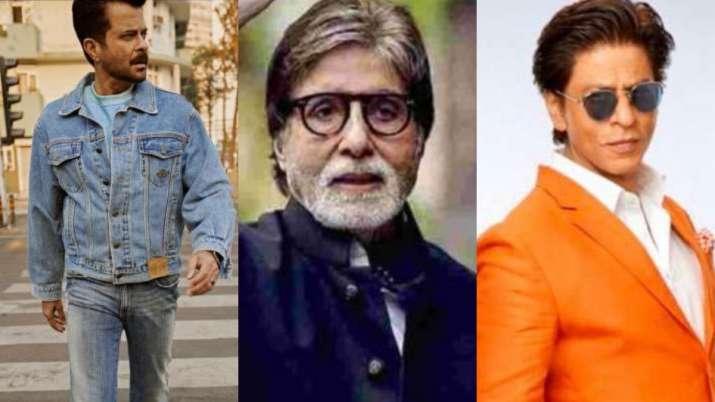 Amitabh Bachchan, Anil Kapoor to Shah Rukh Khan