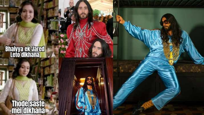 Ranveer Singh's dramatic Gucci photoshoot becomes fodder for hilarious memes on Twitter