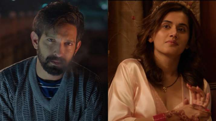 Haseen Dillruba teaser: Taapsee Pannu, starring Vikrant Massey is a mountain trail full of love and deception