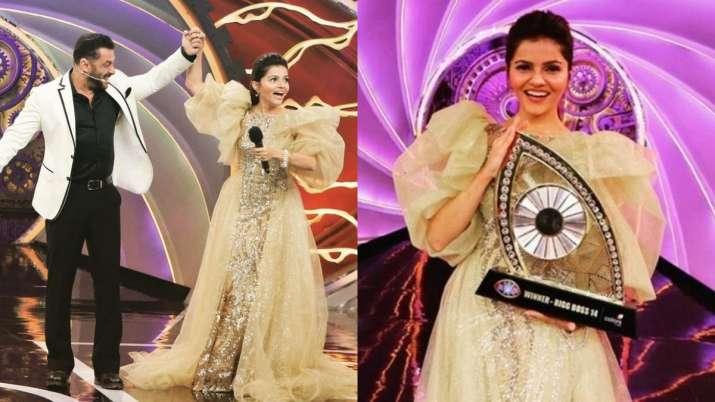 Rubina Dilaik sets her iconic Bigg Boss 14 winning gown for LGBTQIA+ charity sale; Details inside