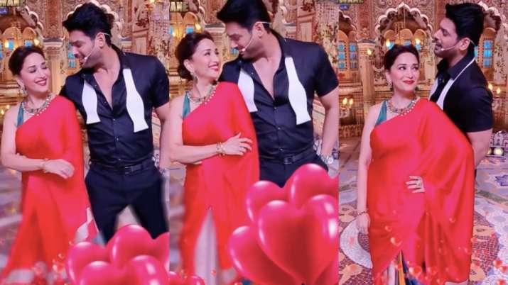 Dance Deewane 3: Sidharth Shukla, Madhuri Dixit's adorable dance video leaves Shehnaaz Gill in awe
