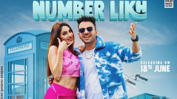 Nikki Tamboli shares FIRST LOOK poster of Number Likh with Tony Kakkar; song to release on THIS date