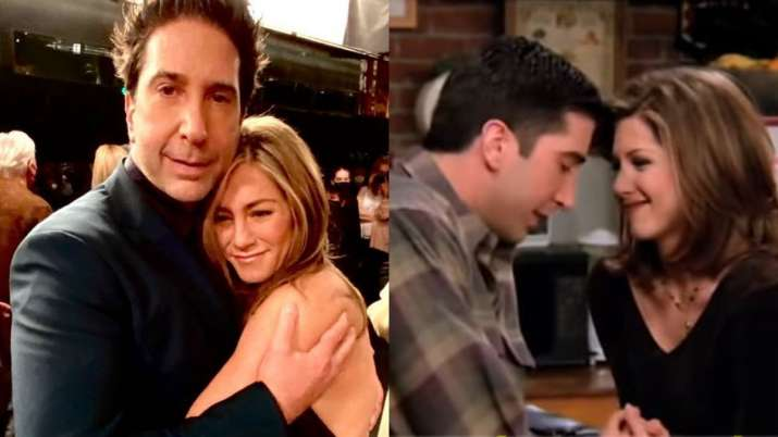 """David Schwimmer, Jennifer Aniston's new """"Last Hug of the Night"""" photo in Friends Reunion, will melt your heart"""