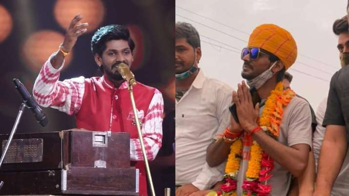 Indian Idol 12 fame Sawai Bhatt receives warm welcome in hometown after eviction, watch videos