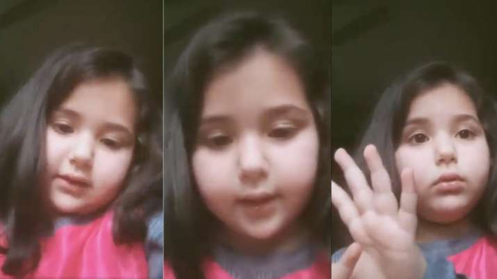Six-year-old J&K girl becomes media sensation after appeal to PM Modi on online classes goes viral