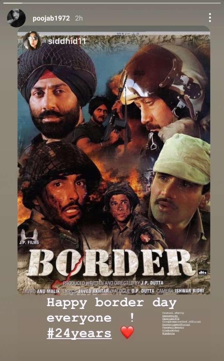 India Tv - Suniel Shetty, Pooja Bhatt on 24 years of Border