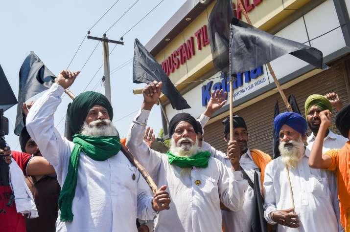 Farmer agitation