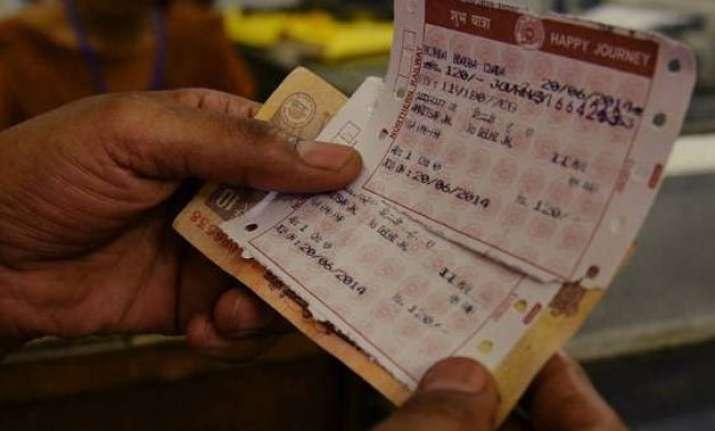 Indian Railway Platform Ticket