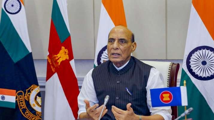 Defence Minister Rajnath Singh.