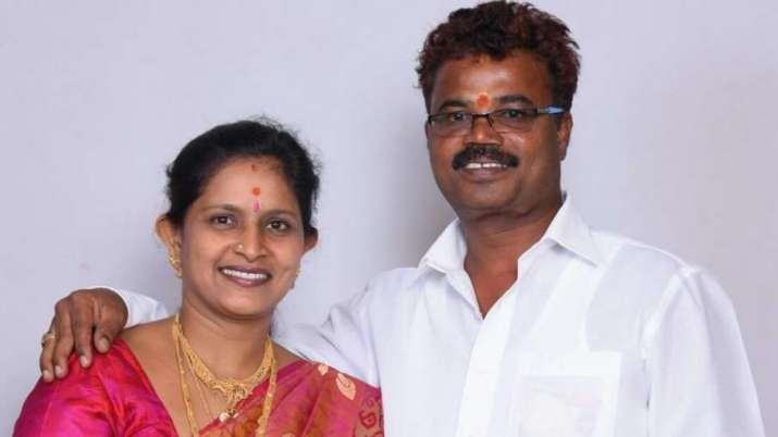 Her husband Kadiresh had been stabbed to death by two