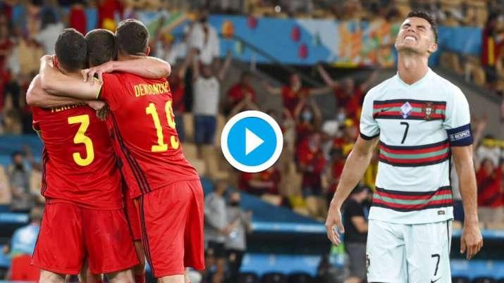 belgium vs portugal, cristiano ronaldo, euro 2020,