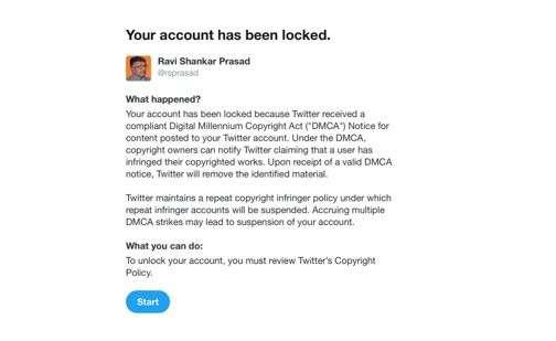 India Tv - twitter, ravi shanka prasad, twitter blocks ravi shankar prasad, IT Minister Ravi Shankar Prasad, Tw