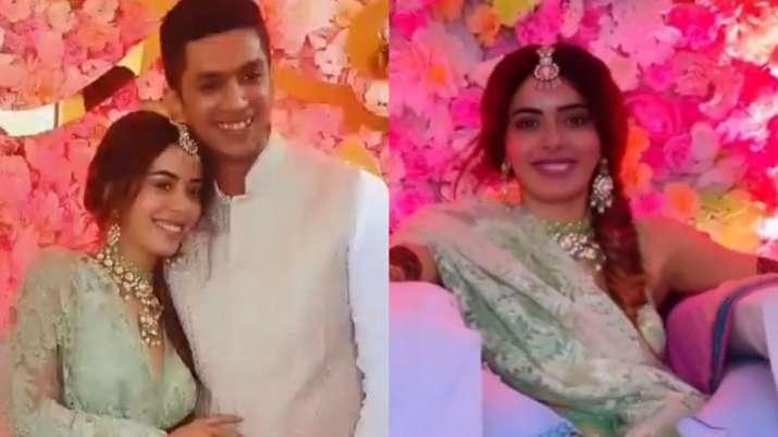 Inside Divya Drishti actress Sana Sayyad's dazzling mehendi ceremony
