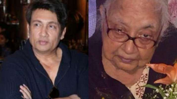 Shekhar Suman mourns the death of his mother