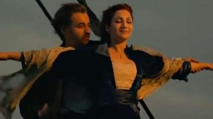Shilpa Shetty, husband Raj Kundra turn Titanic's Kate Winslet-Leonardo DiCaprio in deepfake video