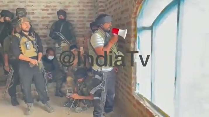 Security forces encounter with terrorists in Shopian, Jammu