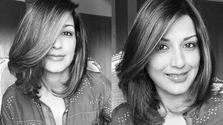 What is Sonali Bendre missing on a good hair day?