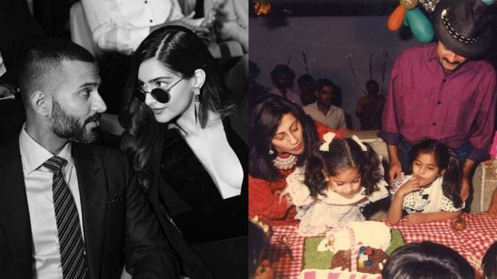 On Sonam Kapoor's birthday, adorable wishes pour in from Anand Ahuja, Anil Kapoor & others