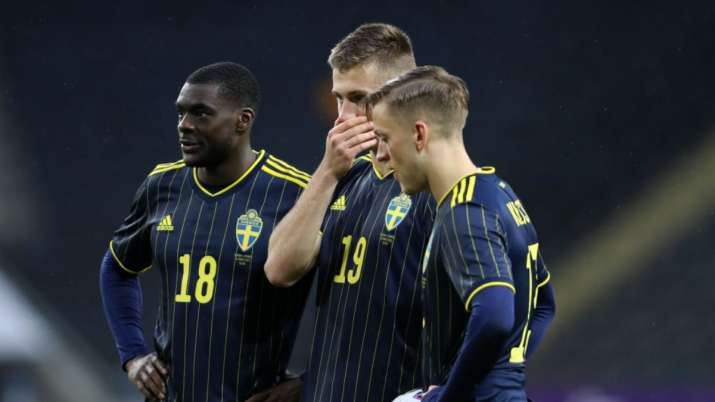 Two players in Sweden's Euro 2020 squad, Dejan Kulusevski and Mattias Svanberg, are isolating after