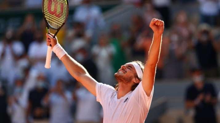French Open: Stefanos Tsitsipas enters maiden Grand Slam final after win over Alexander Zverev