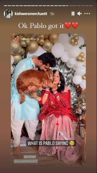 India Tv - Kishwer Merchantt baby shower