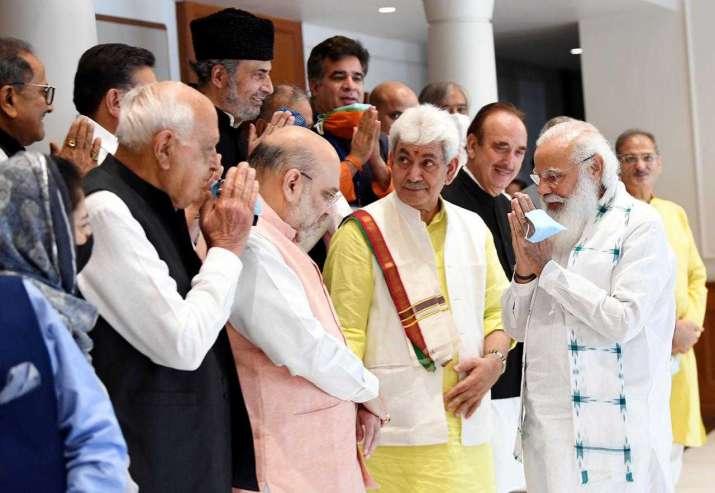 PM modi big remarks, pm modi jammu kashmir meeting, pm modi all party meeting, pm modi top points, m