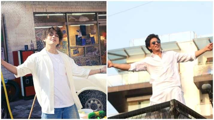 V, Shah Rukh Khan