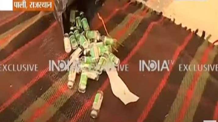 vaccine wastage, pali vaccine wastage, rajasthan vaccine wastage, vaccine wastage news, Pali Collect
