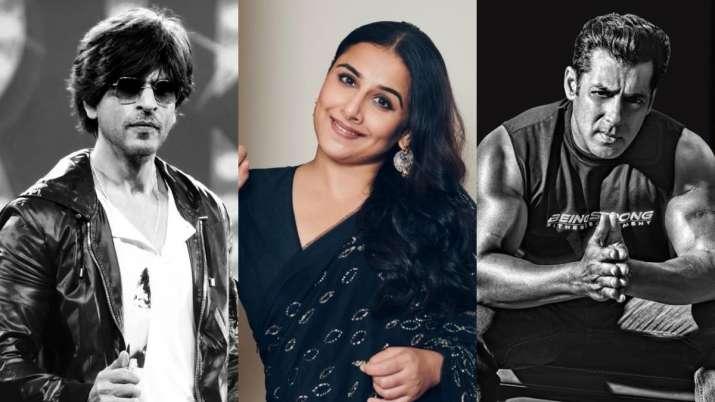 Shah Rukh, Vidya Balan, Salman Khan