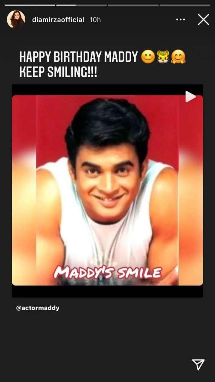 India Tv - Dia Mirza, R Madhavan