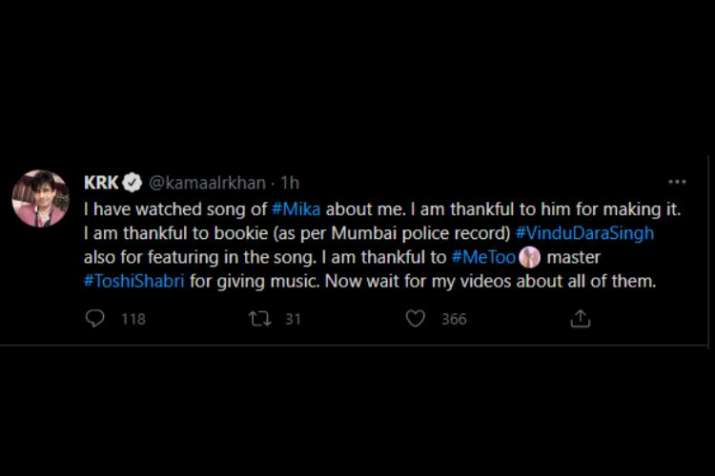 India Tv -  Kamaal R Khan aka KRK