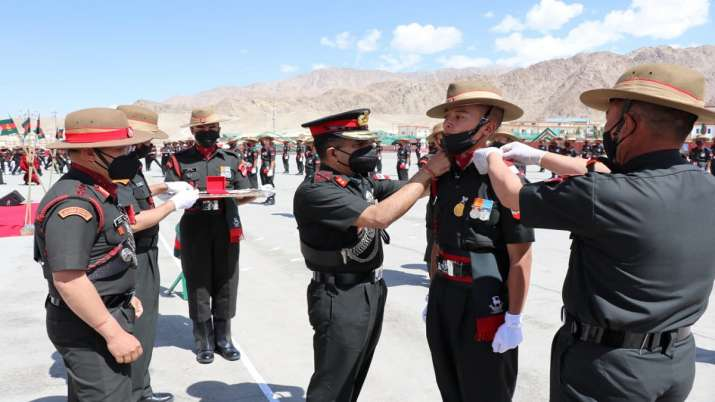 90 young soldiers join Ladakh Scouts regiment