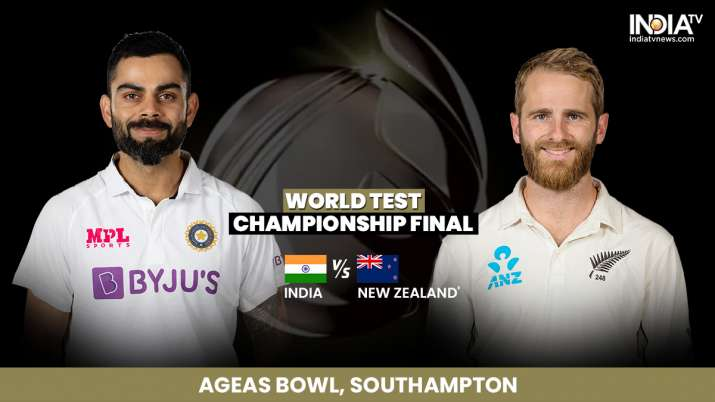 Live Streaming India vs New Zealand World Test Championship Final Reserve Day: How to watch Live Day