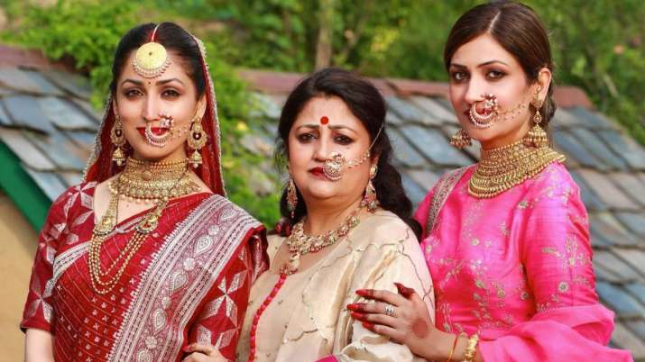 Yami Gautam wishes mother on birthday with a beautiful picture from her wedding album