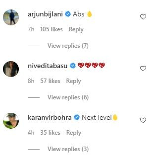India Tv - Comments on Shweta Tiwari's pics