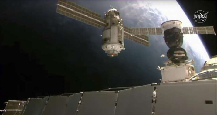 russian module knocks out ISS