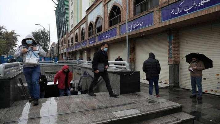 Iran lockdown