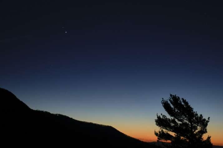 Mars Venus Moon conjunction, Mars Venus Moon conjunction live latest news, Mars Venus Moon conjuncti