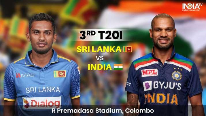 Live Streaming Sri Lanka vs India 3rd T20I: Watch SL vs IND 3rd T20I Live Online on SonyLIV