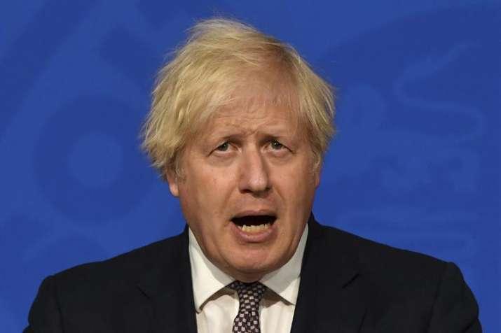UK PM Boris Johnson Coronavirus, UK PM Boris Johnson Coronavirus Masks Off Curbs Eased, Masks off uk