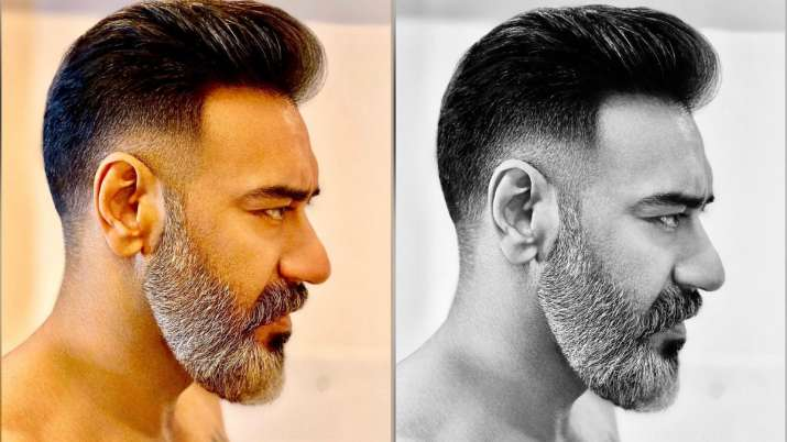 Ajay Devgn surprises fans with new haircut after salt & pepper look | PICS