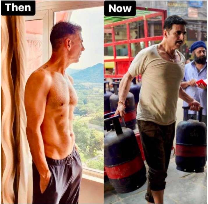 India Tv - Akshay Kumar is gaining weight for Raksha Bandhan, check out her Transformation