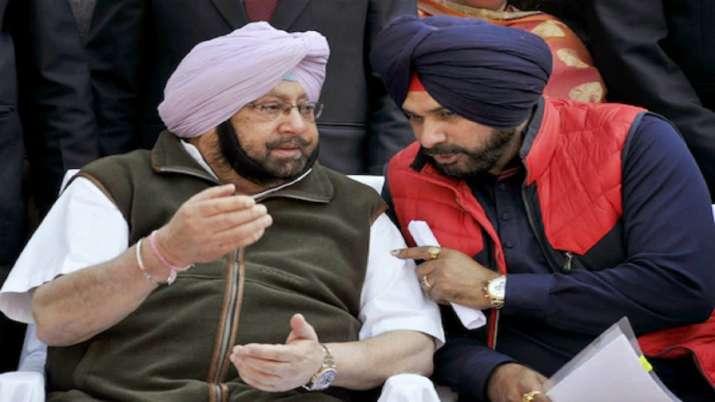 Amarinder Singh won't meet Navjot Singh Sidhu till he