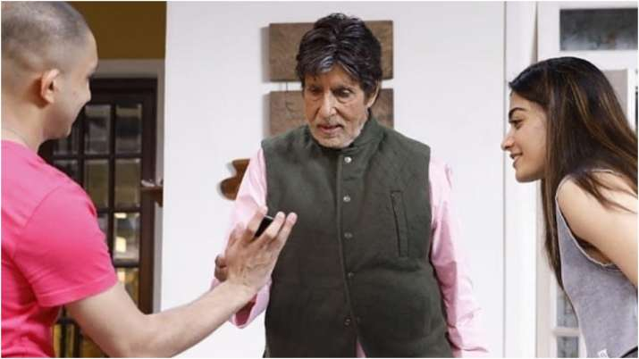 India Tv - Goodbye wrap up party: Amitabh Bachchan turns DJ, Rashmika Mandanna dances her heart out   See Pics