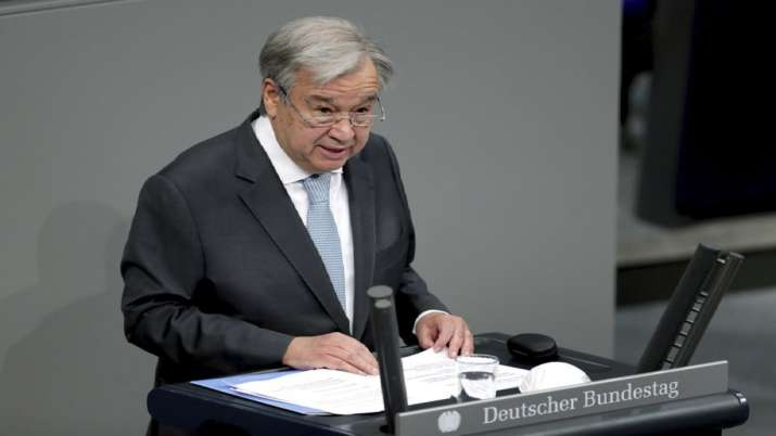 Antonio Guterres, urge, G20 act, vaccine equity, debt relief, coronavirus pandemic, covid strain lat