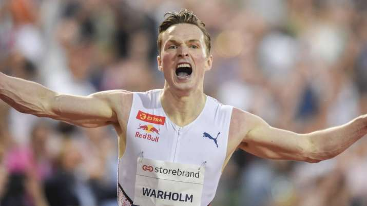 Norway's Karsten Warholm